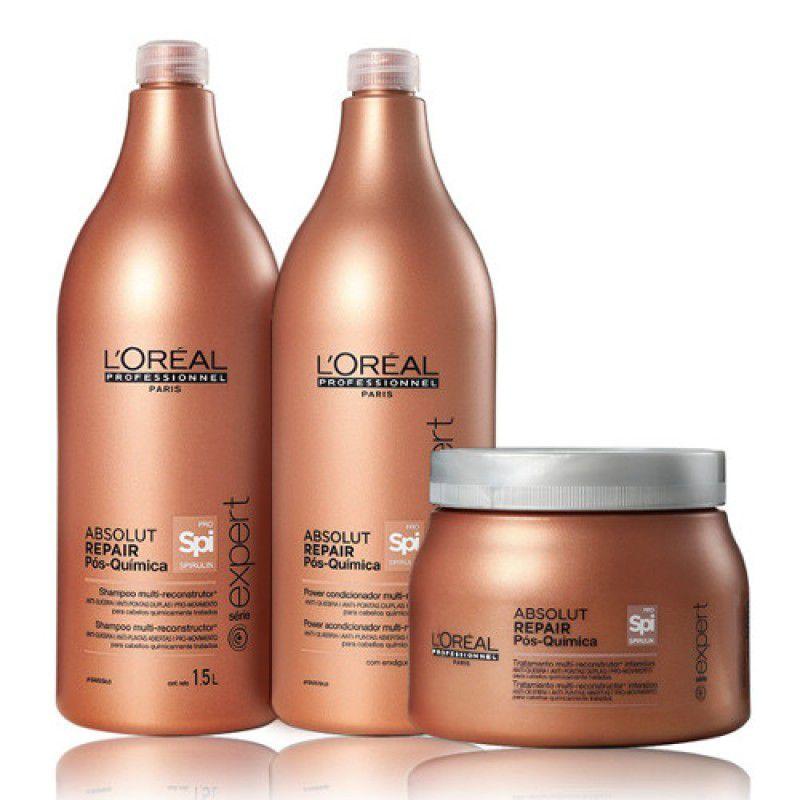 Kit Absolut Repair Pós Química -L'Oréal  - Beleza Outlet