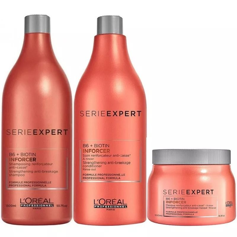 Kit Inforcer – L'Oréal  - Beleza Outlet