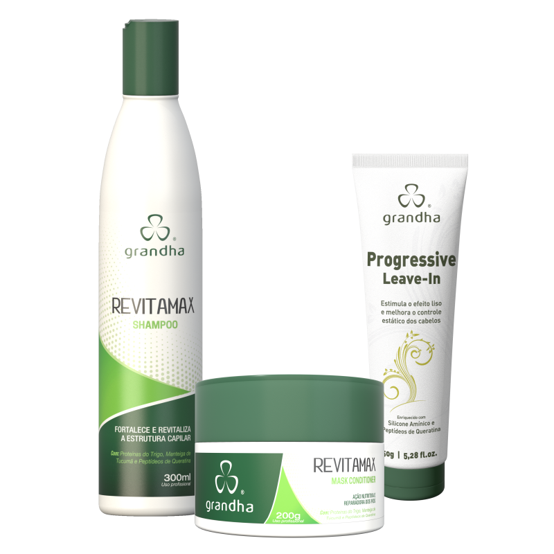 Kit Revitamax Home Care Grandha  - Beleza Outlet