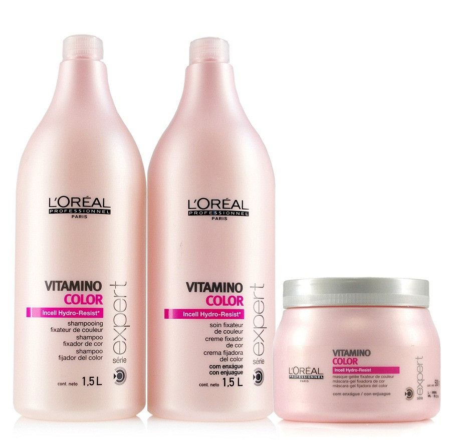 Kit Vitamino Color A OX -L'Oréal  - Beleza Outlet