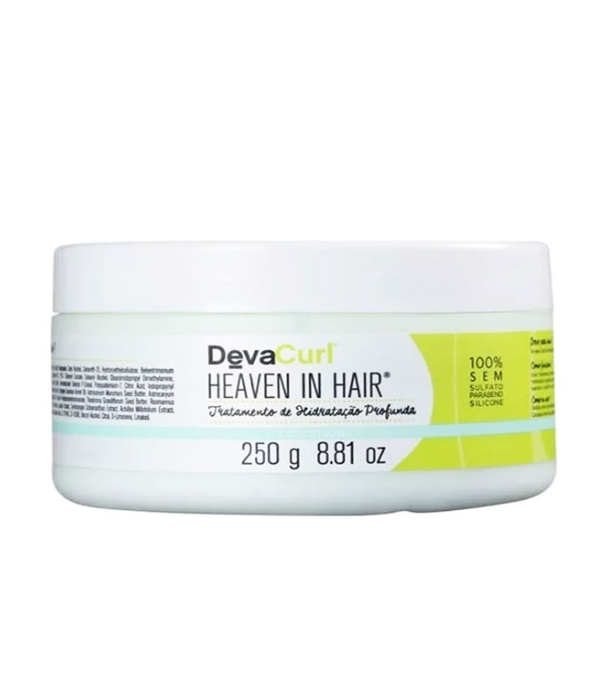 Máscara Hidratante Deva Heaven In Hair 250g  - Beleza Outlet