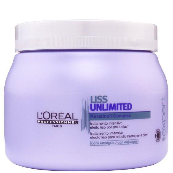 Máscara Liss Unlimited 500g -L'Oréal  - Beleza Outlet