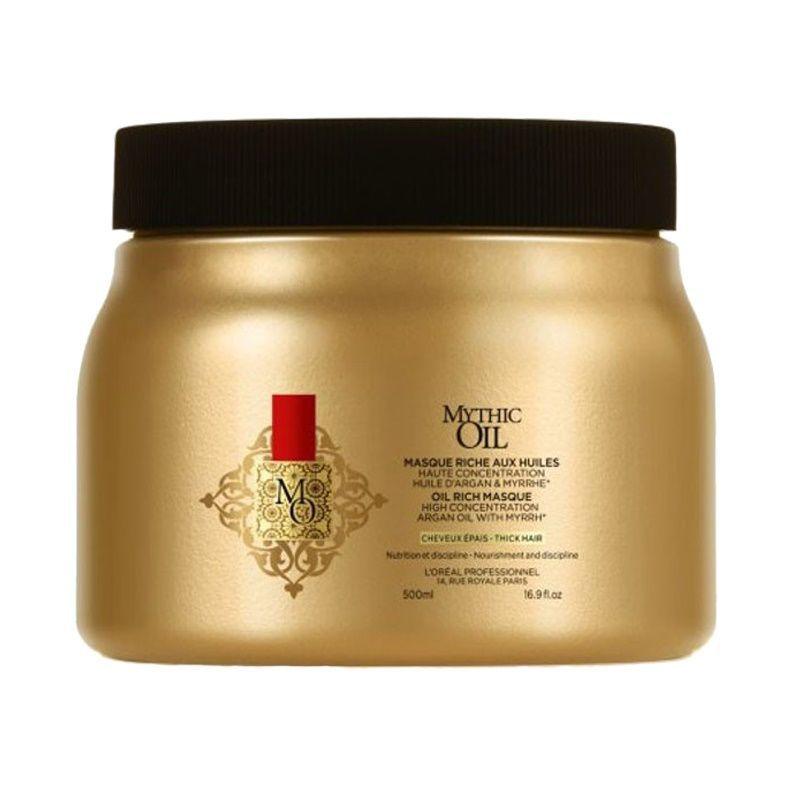 Máscara Mythic Oil 500g -L'Oréal  - Beleza Outlet