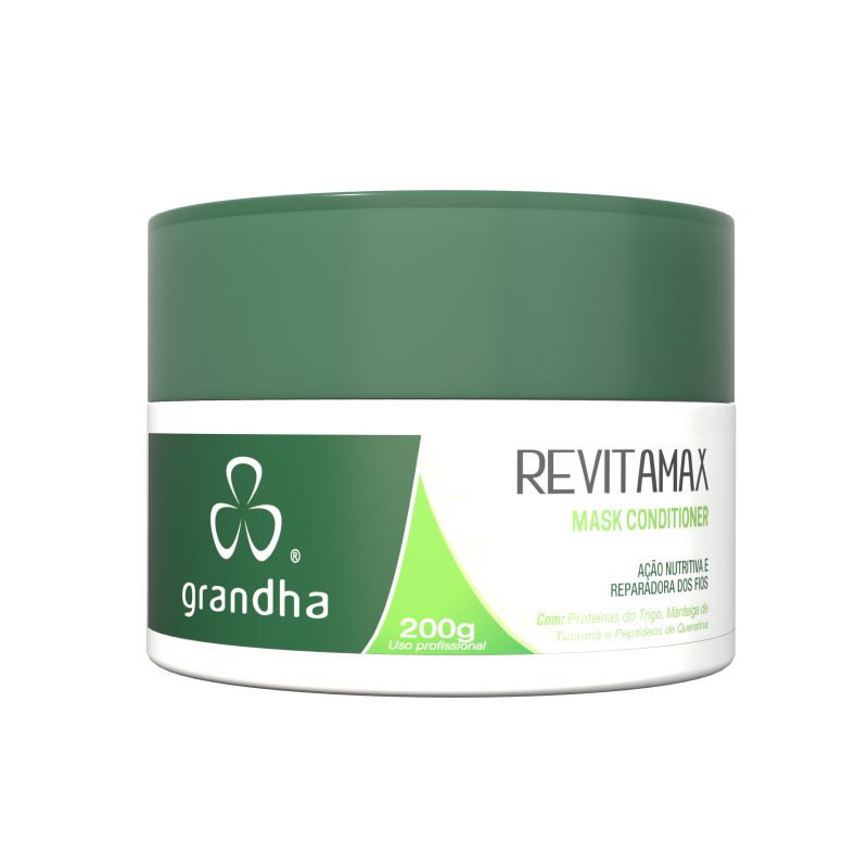 Revitamax Mask Conditioner 200g - Grandha  - Beleza Outlet