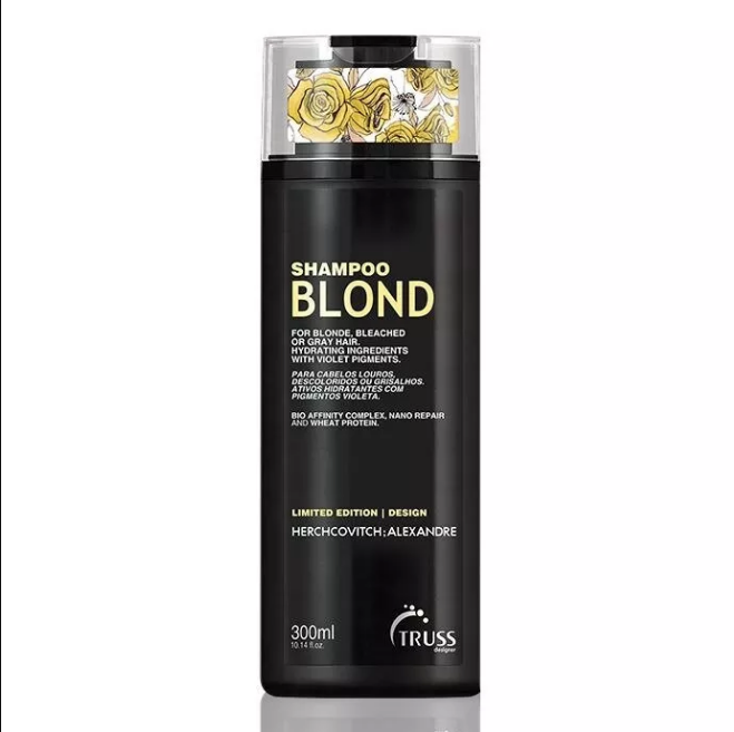 Shampoo Blond Alexandre Herchcovitch 300ml – Truss  - Beleza Outlet