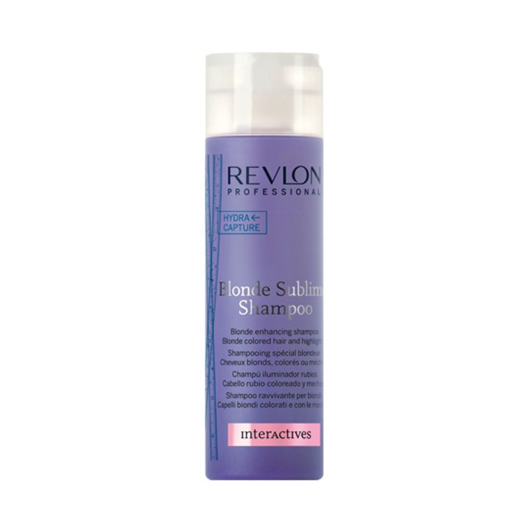 Shampoo Blonde Sublime 250ml -Revlon Professional  - Beleza Outlet