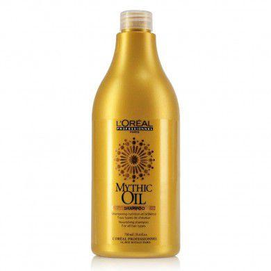 Shampoo Mythic Oil 1L -L'Oréal  - Beleza Outlet