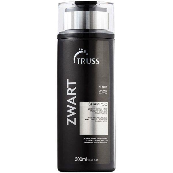 Shampoo Zwart 300ml -Truss  - Beleza Outlet