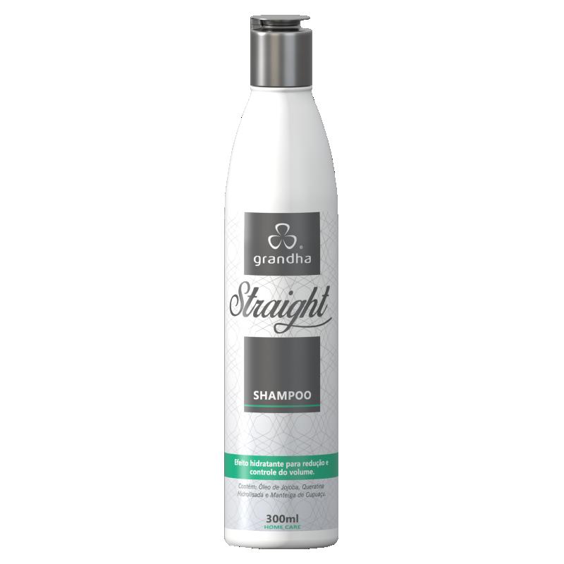 Straight Shampoo 300ml - Grandha  - Beleza Outlet