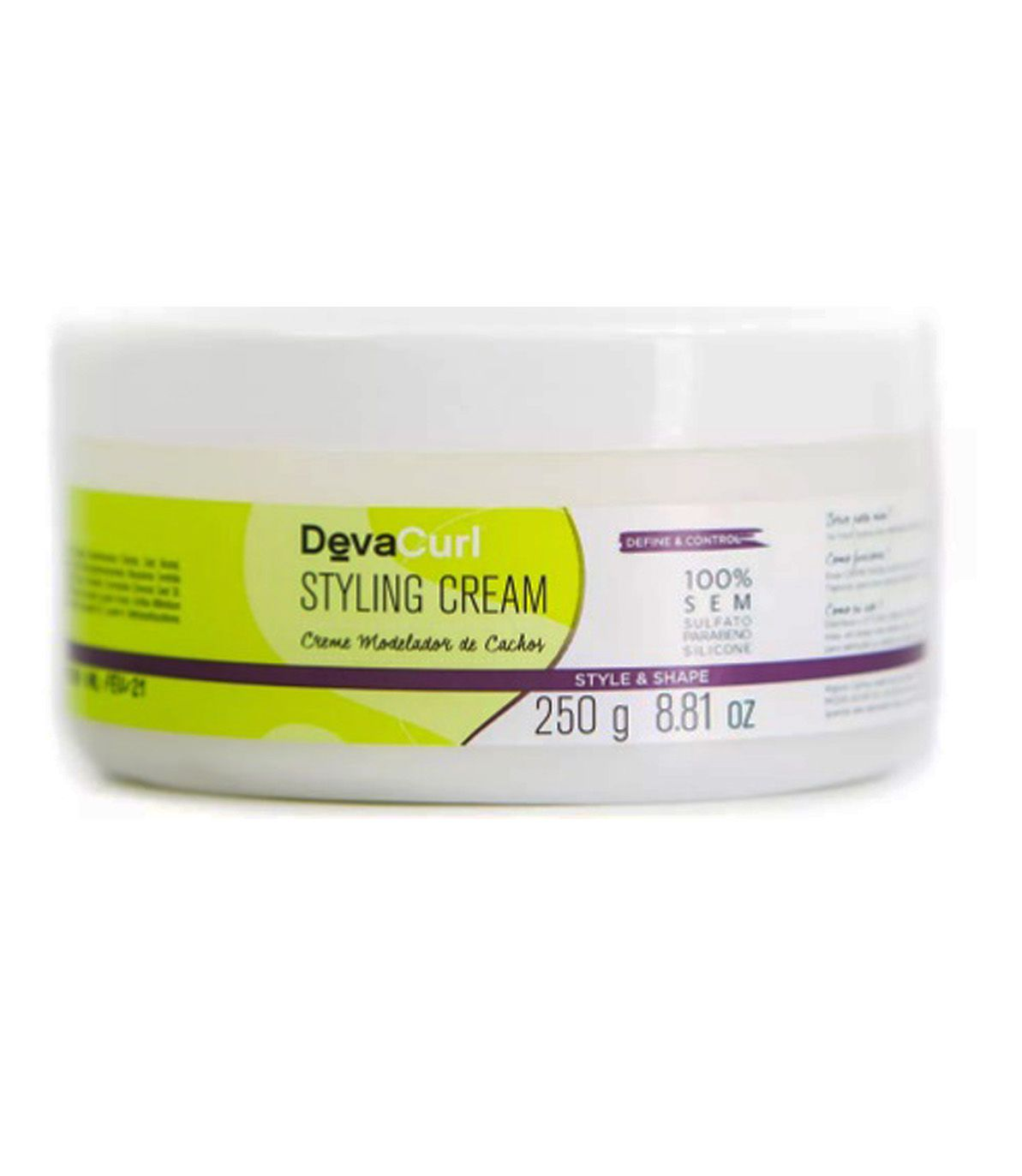Styling Cream DevaCurl 250g  - Beleza Outlet