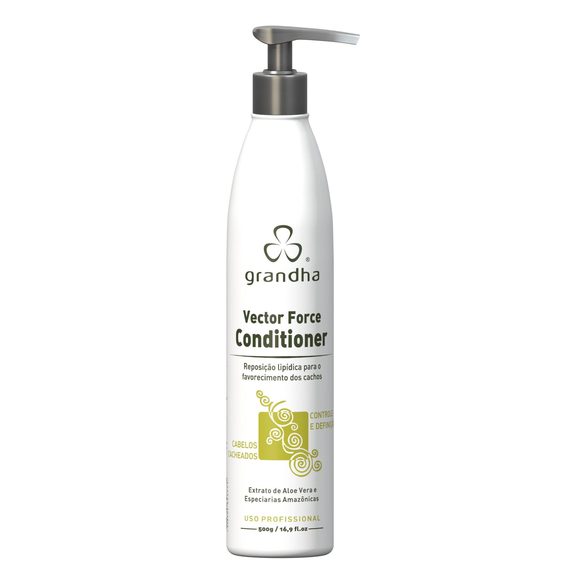 VECTOR FORCE CONDITIONER 500G - GRANDHA  - Beleza Outlet