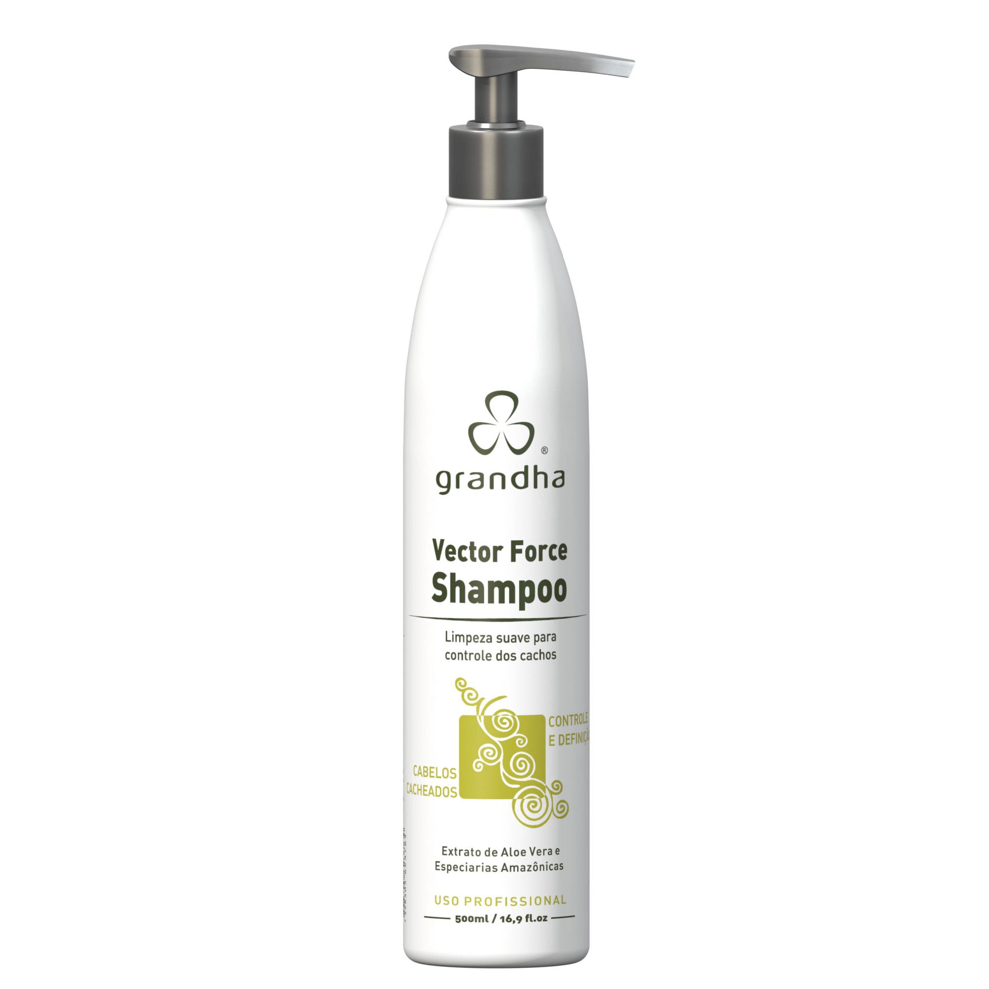 VECTOR FORCE SHAMPOO 500ML - GRANDHA  - Beleza Outlet