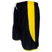 Cal��o modelo Copa Preto/Amarelo