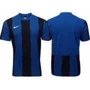 Jogo de Camisas Nike Energy Royal/Preto com 10 Unidades + 1 goleiro Tamanho G Adulto Sem Numera��o