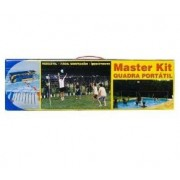 Kit Quadra Port�til Tenis Praia/Campo Oficial Simples - Master