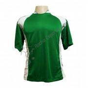 Fardamento - Jogo de Camisa modelo Su�cia com 14 pe�as Verde/Branco - PlayFair - Frete Gr�tis Brasil + Brindes