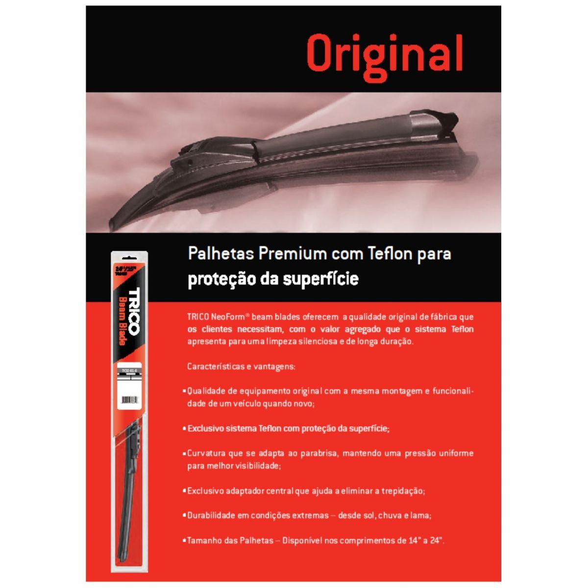 PROMOÇÃO Par Palhetas Limpador Parabrisas Trico Beam Blade Sd1 Ka 2010 Em Diante To1916