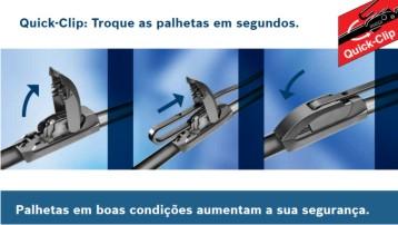 PALHETA LIMPADOR DE PARABRISA AEROTWIN BOSCH HRV 2015 em diante CRV 2007 em diante