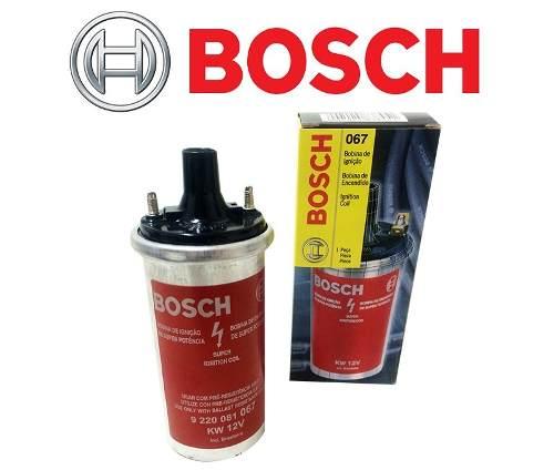 Bobina Ignição Original Bosch Sem Pino VW GM Ford 9220081067