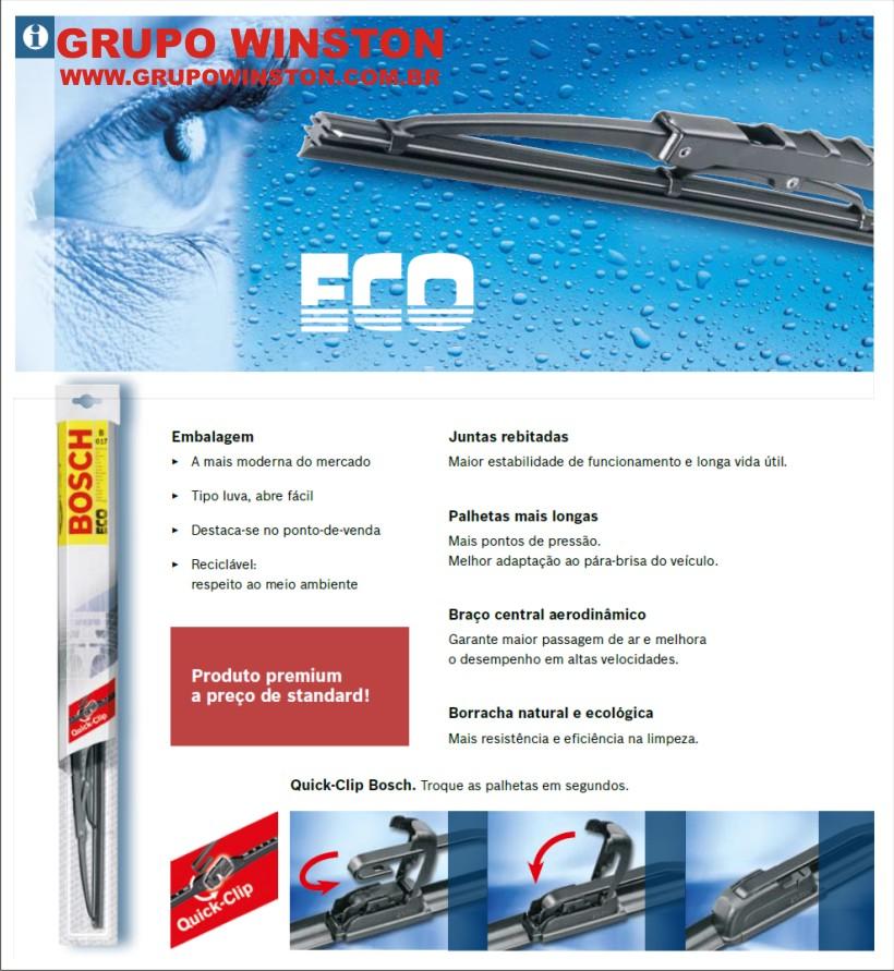 Palheta Bosch Eco S26 - 10 unidades