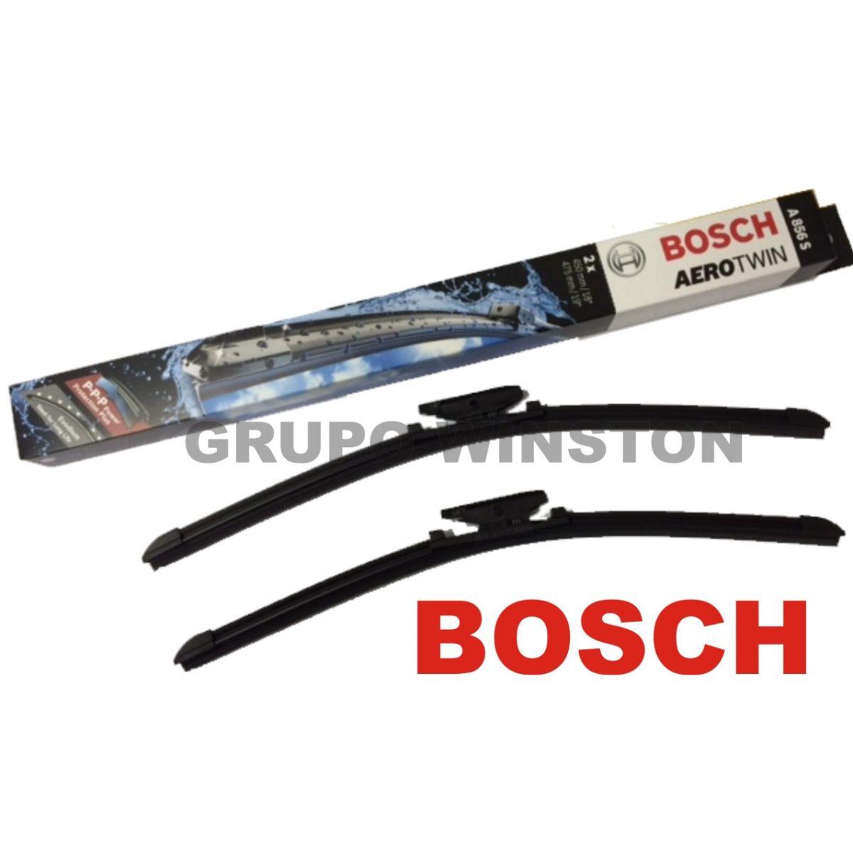 Palheta Bosch Aerotwin Mini Cooper ENCAIXE BAIONETA 18/19 A856s