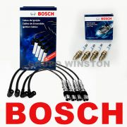 Kit Cabos E Velas Bosch Fox Gol G4 G5 Voyage 1.0 1.6 8v Flex F00099C125 | F000KE0P30 consulte aplicação