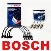 Kit Cabos E Velas Bosch Fox Golf Polo 1.6 Flex Até 2008 F00099C125   F000KE0P29 consulte aplicação