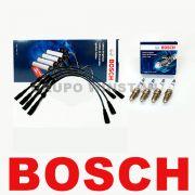 Kit Cabos E Velas Bosch Audi A3 1.8 20v Aspirado 99 Até 06 F00099C077 | F000KE0P06 consulte a aplicação