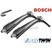 Palheta Limpador de Parabrisa Original Bosch Aerotwin Porsche 911 1997 até 2011 Boxster 1996 em diante Cayman 2005 em diante
