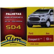 Par Palhetas Limpador Parabrisas Original DYNA SD4 Ford Ecosport 2013 em diante