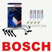 Kit Cabos E 4 Velas Bosch Honda Civic 1.6 1995 Até 2000 F00099C106 | 0 242 236 542 consulte aplicação