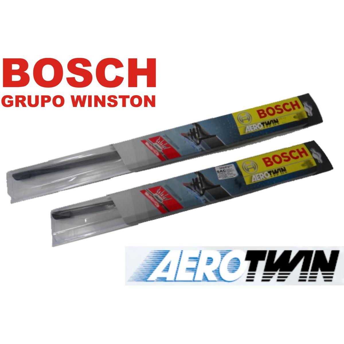 Palheta Limpador de Parabrisa Original Bosch Aerotwin Mitshubish Pajero 91 a 2000 TR4 2002 em diante