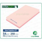 Papel Autocopiativo CF  Rosa  218x318 - 250 Fls.