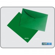 ENVELOPE COLOR - VERDE - 7,2 X 10,7 CM PCT. 25 UN.