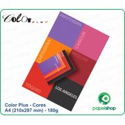Color Plus - 180g - A4 (210x297) 12x6 Cores