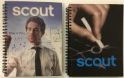 Caderno Scout - Capa Dura - 200x150 mm - 96 fls