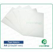 Papel Adesivo Fosco - A4  - 100 Fls.
