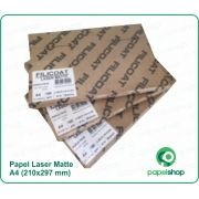Papel Laser Matte Dupla Face - 180 gr - A4 - 80 fls