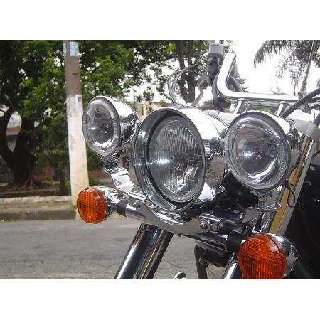 Suporte com Faróis DALAVAS para Shadow 750cc até 2010  - Fabiana Dubinevics - Ofertão Virtual