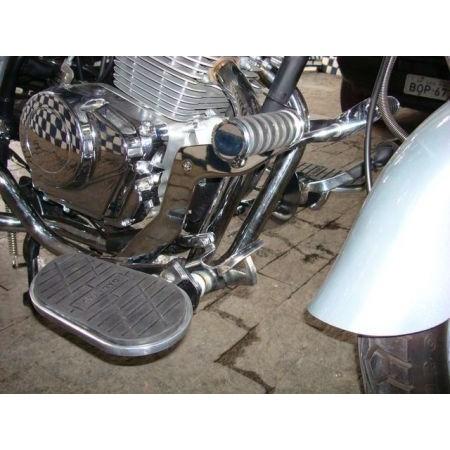 Protetor de Motor com pedaleiras DALAVAS para FYM 250  - Fabiana Dubinevics - Ofertão Virtual