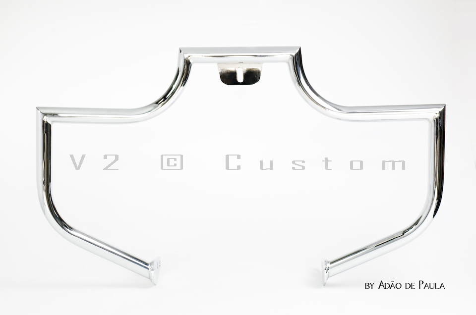 Protetor de Motor Tubular V2 Custom para Midnight  - Fabiana Dubinevics - Ofertão Virtual