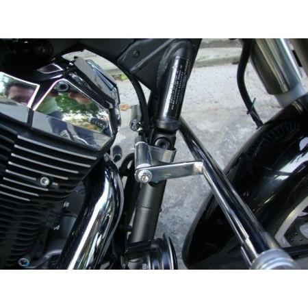 Protetor de Motor com Pedaleiras Dalavas para Midnight Star  - Fabiana Dubinevics - Ofertão Virtual