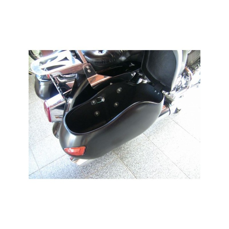 Alforjes Lateral de Fibra Modelo BM 9000 Classic  - Fabiana Dubinevics - Ofertão Virtual