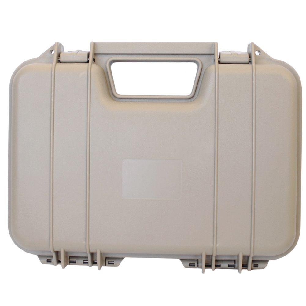 55e458579 Maleta Para Transporte de Pistola - Cor  Tan