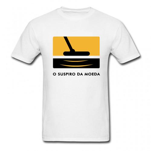 Camiseta O Suspiro da Moeda  - Fortuna Detectores de Metais