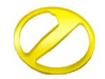 Protetor de Bobina Minelab Amarelo de 8 Polegadas para Excalibur  - Fortuna Detectores de Metais