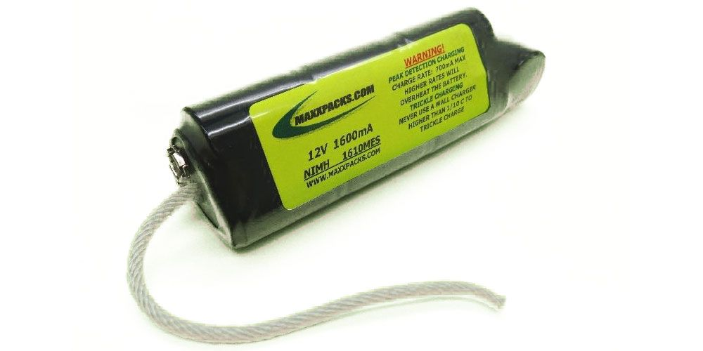 Bateria de NiMH para Detector de Metais Minelab Excalibur, sem carcaça