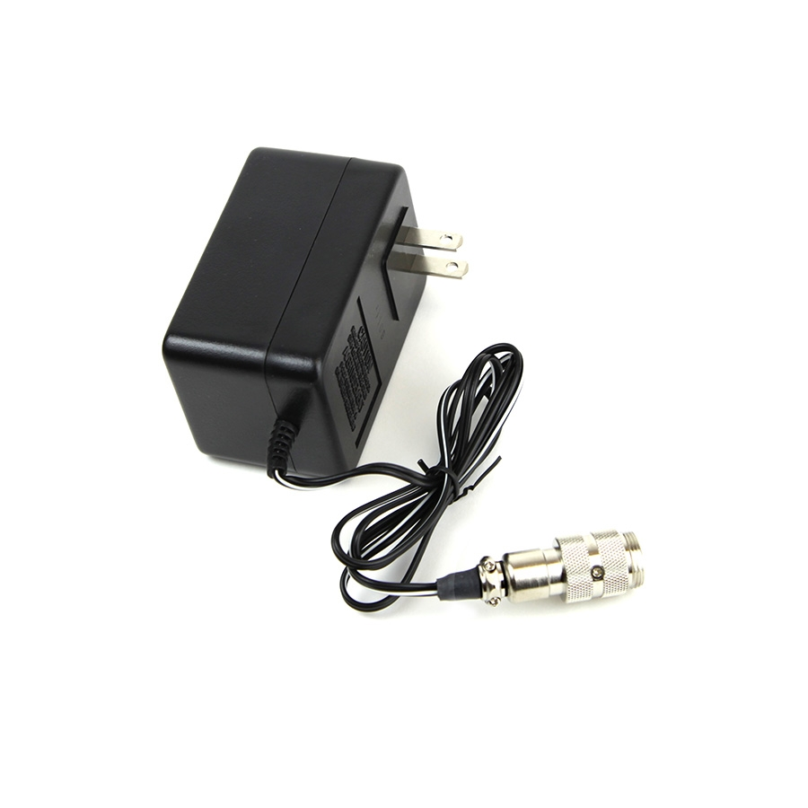 Carregador 110V de baterias de Gel Minelab para detectores de metais das séries SD e GP  - Fortuna Detectores de Metais