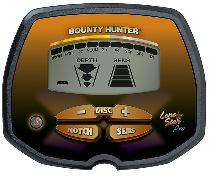 Detector de Metais Bounty Hunter Lone Star PRO  - Fortuna Detectores de Metais