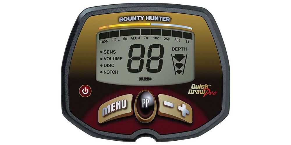 Detector de Metais Bounty Hunter Quick Draw PRO  - Fortuna Detectores de Metais